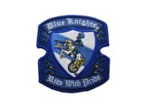Blue Knights Ride With Pride Patch Price $6.00